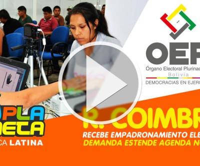 Demanda de público justifica ampliação do Empadronamiento Eleitoral Boliviano na R.Coimbra