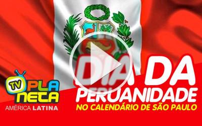 Dia da Peruanidade no calendário oficial da cidade de São Paulo