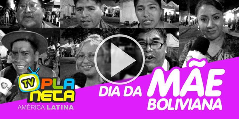 No dia da mãe boliviana, imigrantes em SP enviam mensagens para a mãe distante