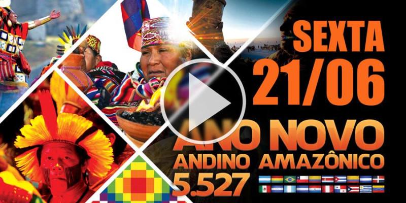 ANO NOVO ANDINO AMAZÔNICO 5.527, sexta-feira 21 de junho a a partir das 00:00h - em São Paulo