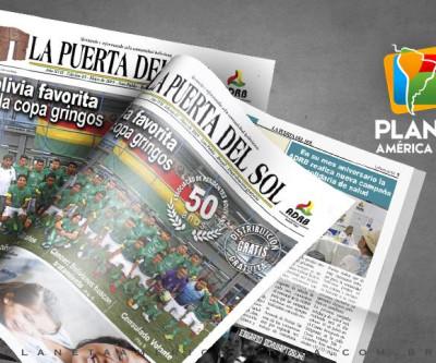 Edição nº 65 do Jornal boliviano - La Puerta Del Sol
