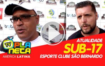 Clube São Bernardo une a ginga Brasileira e Peruana na Sub-17