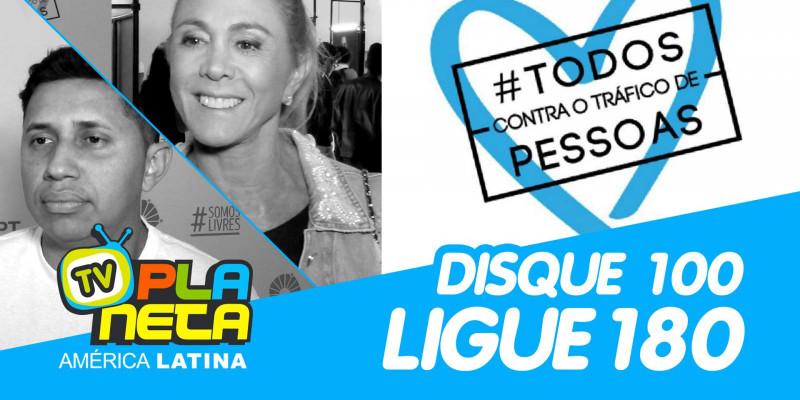 Hortência, Rainha do Basquete Mundial pede para DENUNCIAR o Tráfico de Pessoas