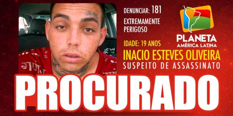 INACIO ESTEVES DE OLIVEIRA, suspeito procurado pelo assassinato de dois bolivianos em SP