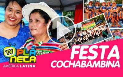 Cochalitas a caráter celebram o dia de Cochabamba em São Paulo