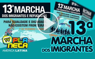 A Paulista será o palco da 13ª Marcha dos Imigrantes e Refugiados 2019