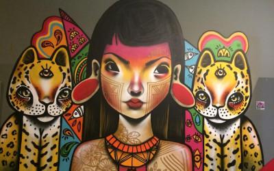 Exposição de arte urbana reúne 20 artistas brasileiros no Memorial da América Latina