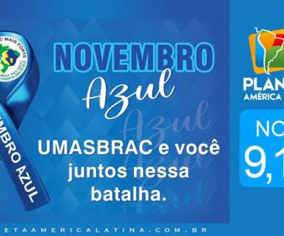 Novembro Azul em frente ao Metrô Tiradentes no Bom Retiro