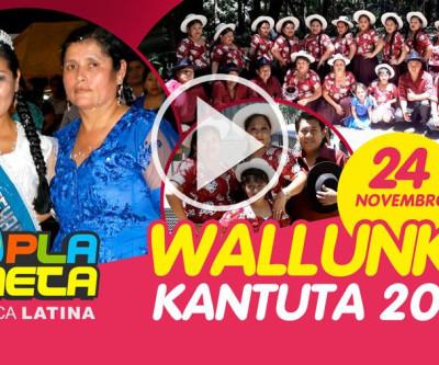 WALLUNKA 2019 na Praça Kantuta neste domingo 24 de novembro em São Paulo