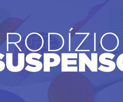 Rodízio suspenso, 23 de dezembro