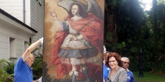 Recuperadas 5 peças artísticas do patrimônio cultural peruano