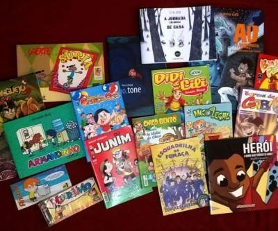 Abertura da mostra Quadrinhos Infantis Brasileiros terá bate-papo com autores no dia 1º de fevereiro