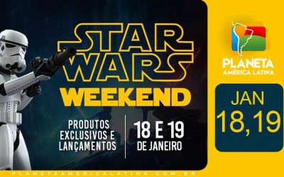 Darth Vader e Stormtrooper no Star Wars Day na ToyShow!