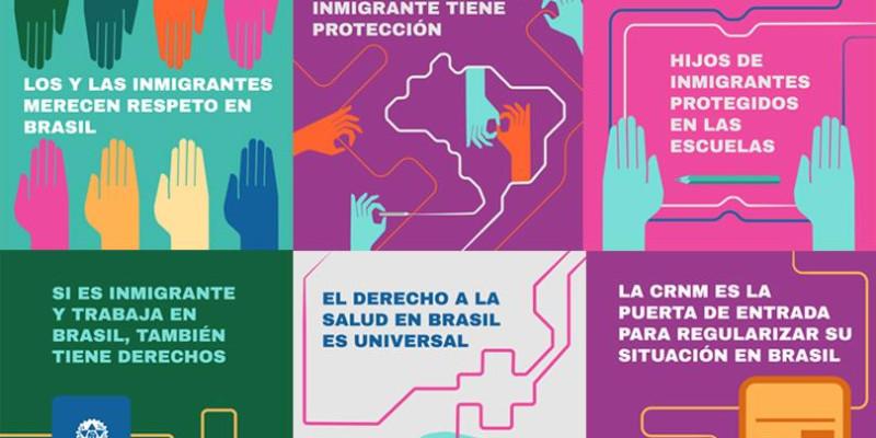 Campanha em São Paulo visa empoderar migrantes contra o trabalho escravo