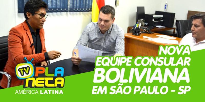 Nova equipe consular boliviana em SP promete melhorias no atendimento ao público