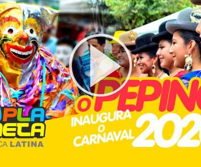 O carnaval boliviano começou em São Paulo com o desenterro do PEPINO