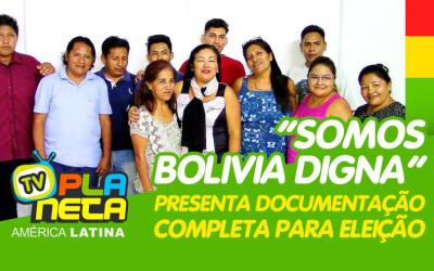 SOMOS BOLIVIA DIGNA - com documentação aprovada para Eleição 2020 da Federação Boliviana no Brasil