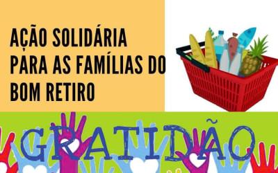 Ação solidária para as famílias do Bom Retiro