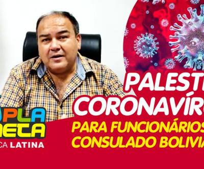 Equipe consular boliviana é capacitada contra transmissão do coronavírus em São Paulo