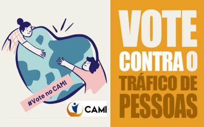 VOTE contra o tráfico de pessoas!