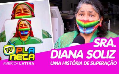 A boliviana Diana Soliz um exemplo de luta pelos seus direitos