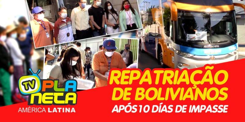Bolivianos são repatriados durante pandemia da COVID-19