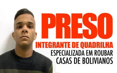 Preso suspeito de ter tirado selfie enquanto roubava família boliviana em São Paulo