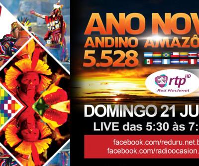 Desde o Brasil para o mundo - Ano Novo Andino Amazônico 5.528
