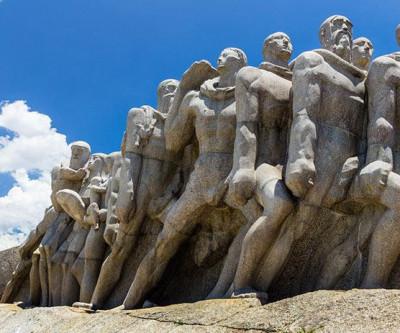 Monumentos contam história do Brasil em São Paulo