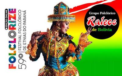 Bolívia presente no 59º Festival Folclórico de Etnias do Paraná