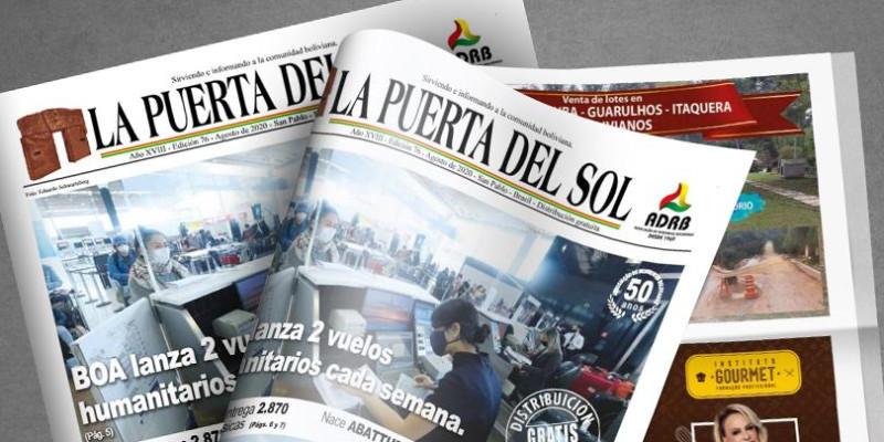 La Puerta Del Sol  - Edição nº 76 do Jornal boliviano em SP