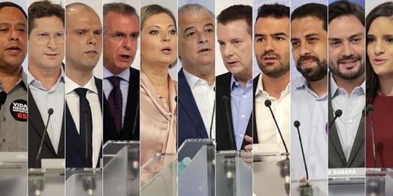 Debate à prefeitura de São Paulo 2020