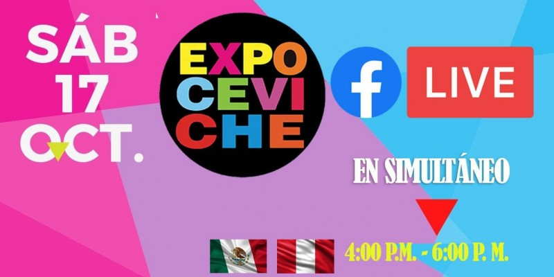 ExpoCeviche Virtual 2020 por facebook