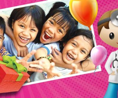 O dia das crianças traz brinquedos, frutas e saúde para os baixinhos