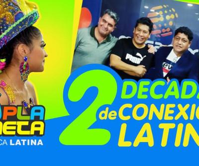 20 anos de Conexión Latina, ao ritmo de um 2021 cheio de esperança e união
