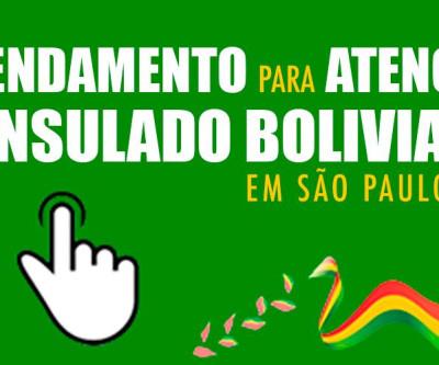 AVISO IMPORTANTE! - Consulado boliviano atenderá mediante agendamento online