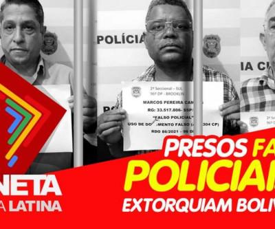 Criminosos que extorquiam bolivianos são presos pela PM em São Paulo