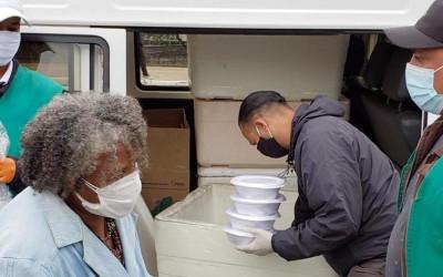 Rede Cozinha Cidadã atinge a marca de 2 milhões de marmitas distribuídas à população em situação de rua da cidade
