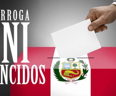 Prorroga de DNI vencidos até o 30 de junho - Eleições Gerais Peru 2021