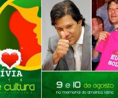 Festa bolivina contará com a presença do prefeito Fernando Haddad