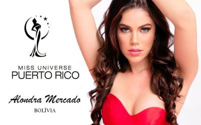 Alondra Mercado, a beldade que irá representar a Bolívia no Miss Mundo 2021