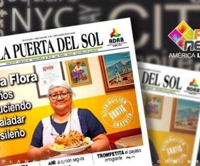 Doña Flora, destaque no jornal La Puerta Del Sol