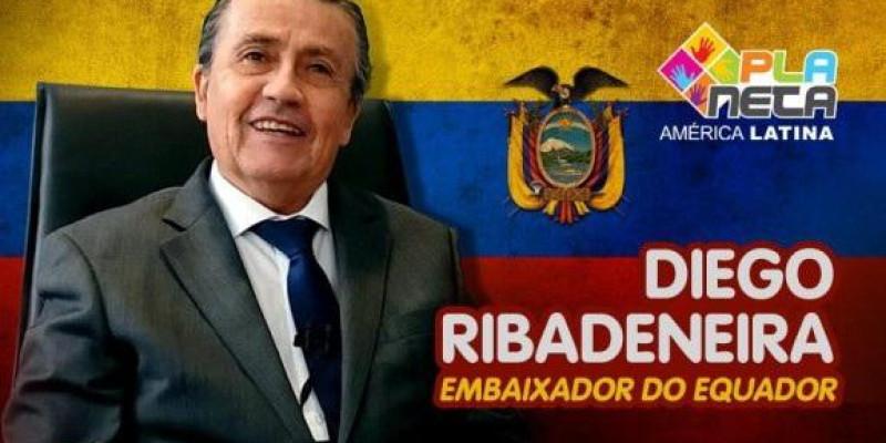 Entrevista com Diego Ribadeneira, Embaixador do Equador em Brasil