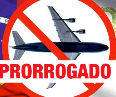 Extendida a suspensão de voos provenientes do Brasil ao Peru até 14 /03/21