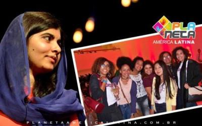 Malala Prêmio Nobel da Paz, motiva ativistas em São Paulo