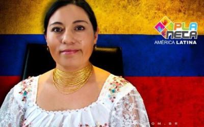 Verónica Barahona, equatoriana inquieta de Otavalo para São Paulo