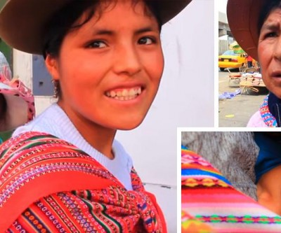 LLIKLLA, a manta que sustenta a vida das mulheres e familias peruanas