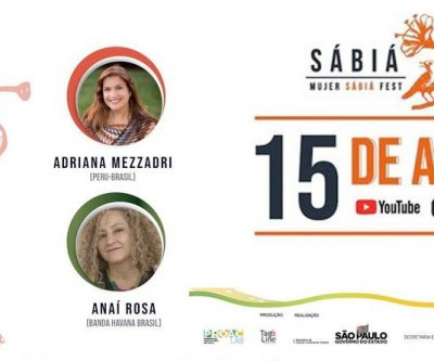 Adriana Mezzadri e Anaí Rosa são as convidadas do dia 15 de abril