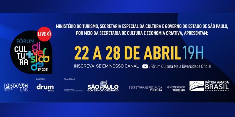Fórum Cultura + Diversidade retorna a São Paulo em sua quinta edição