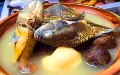 Sopa de carachi ou wallakue - Desde o Lago Titicaca para o mundo.
